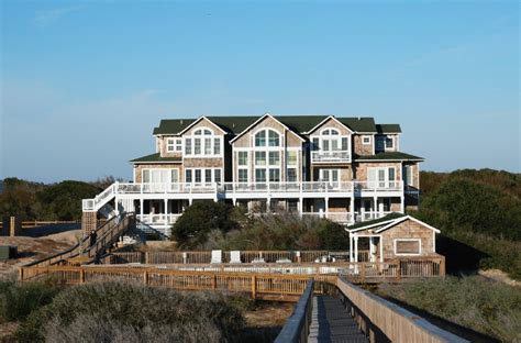 beachfront homes for in carolina oceanfront vacation rentals outer banks