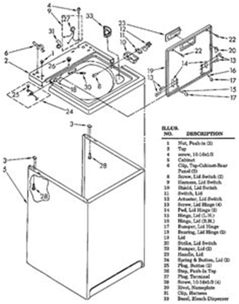 kenmore 90 series washer parts diagram kenmore 800 series washer schematic get free image about