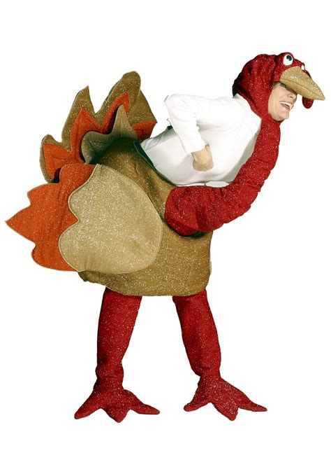 Gobbles the turkey costume men and womens turkey thanksgiving