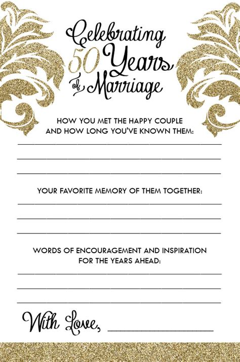 Wedding Anniversary Gift Schedule by Printable Anniversary Sheets Damask By