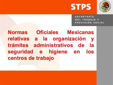 normas stps 2016 resumen normas oficiales stps