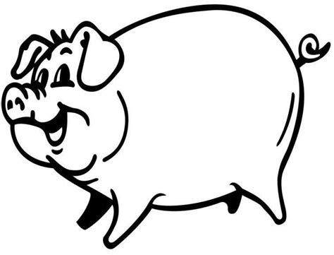 coloring page pigs big pig coloring pages for kids recipes to cook