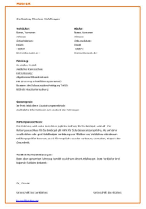 Standard Kaufvertrag Auto by Kaufvertrag F 252 R Einen Unfallwagen Autokauf 2018