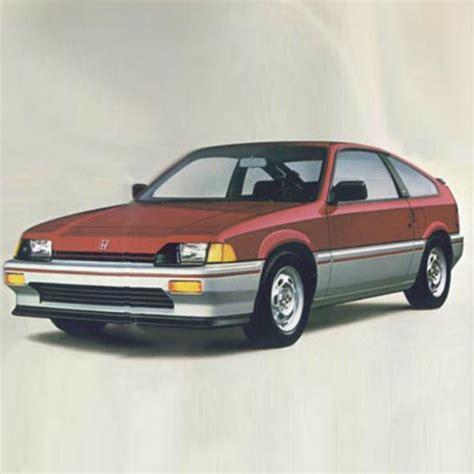 old car repair manuals 1984 honda cr x seat position control honda cr x repair manual 1983 1991 only repair manuals