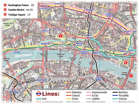 printable street map of london city centre london pdf maps with attractions tube stations