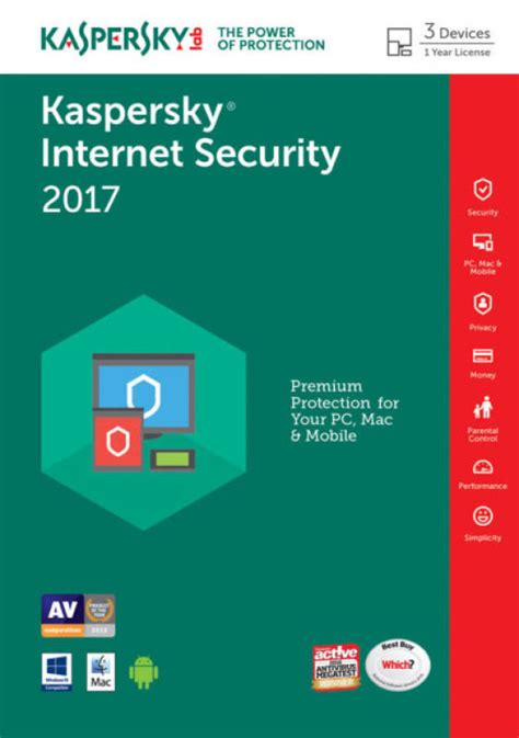 kaspersky full version price kaspersky internet security 2017 3 device 1 year ffp ebuyer