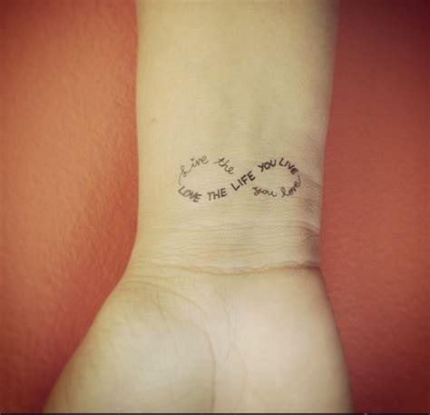 13 beautiful life wrist tattoos
