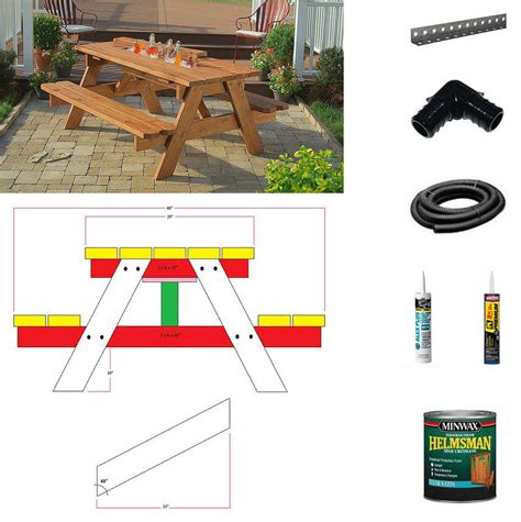 how to build a picnic table bench picnic table plans 100 children s picnic table plans best