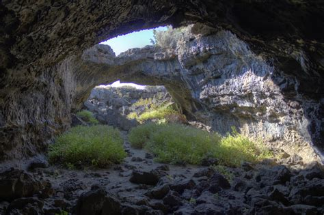 lava beds national monument photo of the day lava tube lava beds national monument