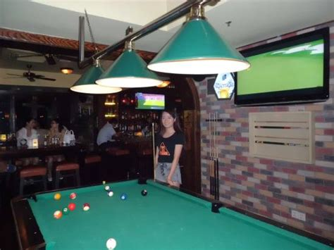 how big is a bar pool table big screen and pool table picture of big bamboo sports