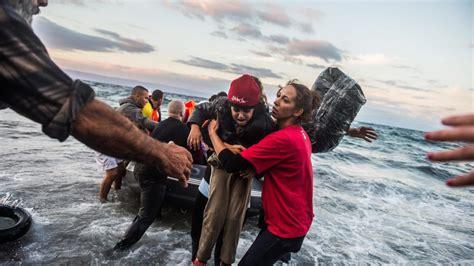 imagenes de cos otoñales vluchtelingen verdrinken voor de kust van grieks eiland