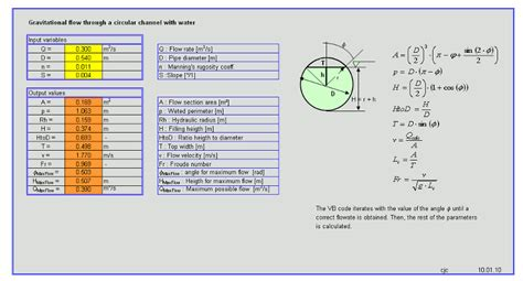 Hydraulic Grade Line Calculation Spreadsheet by Pin Moody Friction Factor Calculator On