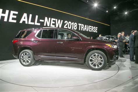 2018 traverse release 2018 chevrolet traverse review redesign photos release date