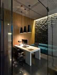 Hanging Ceiling Design Modern Minimalist Office Design With High Ceiling And