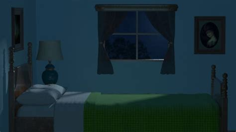 night for bedroom night bedroom scene 3d max