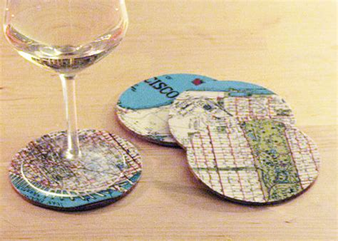 How To Make Handmade Coasters - gift ideas for