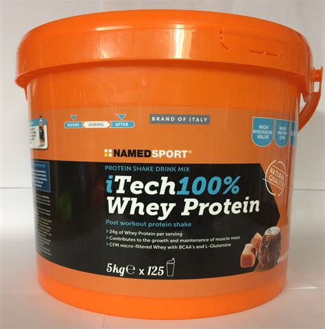 protein 5kg named sport itech 100 whey protein 5kg absolute