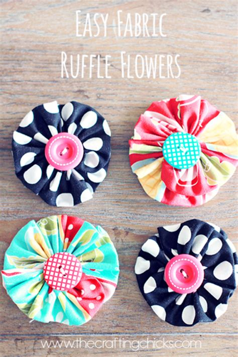 fabric crafts easy 32 diy projects made with buttons