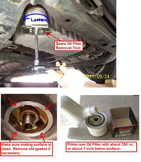 p master stuck oil filter canister thread volvo forums