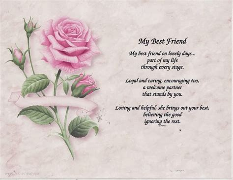 poems for your best friend touching friendship poems nation of friendships