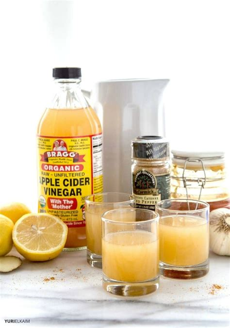 Apple Cider Vinegar Tonic 60 Detox Meth by Nature S Flu And Cold Buster Recipe Flu Remedies
