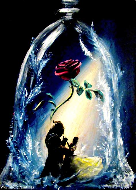tale as old as time by wormholepaintings on deviantart
