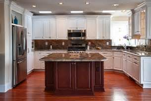 full custom center island kitchen end results kps