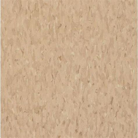 armstrong imperial texture vct nougat commercial vinyl tiles 6 in x 6 in take home sle ar