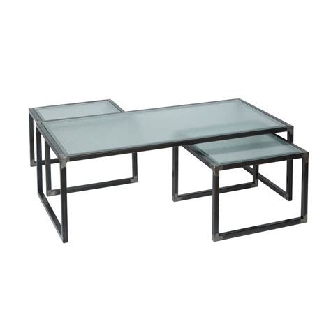 industrial coffee table set coffee tables industrial chic style furniture oli grace