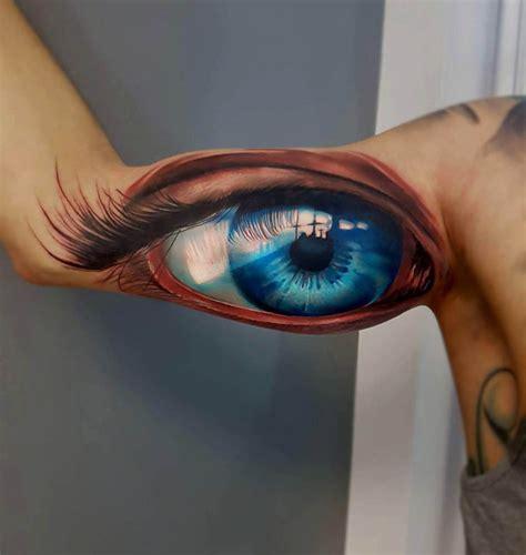 tattoo eyeball blue big blue eye tattoo best tattoo ideas gallery
