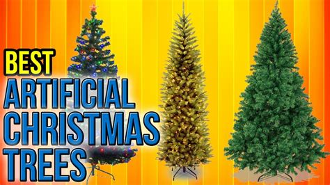 10 best artificial christmas trees 2017 youtube
