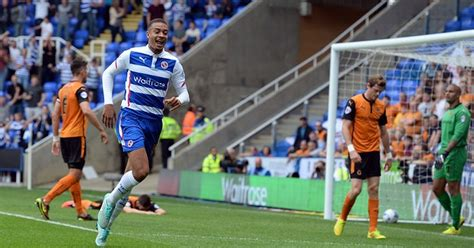 reading training around reading fc star michael hector happy to silence training ground taunts get reading