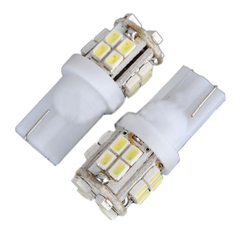 Car Light Bulbs Cost 10x T10 W5w 194 168 Car White 20 Smd Led Side Light Bulb