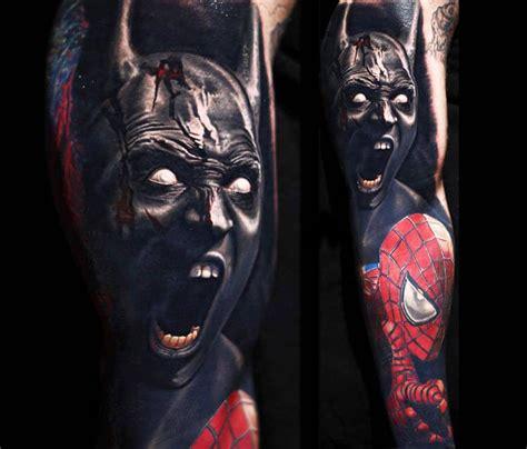 batman venom tattoo spiderman tattoo tattoo collections
