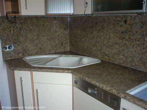küchenarbeitsplatte glas k 252 che stein r 252 ckwand