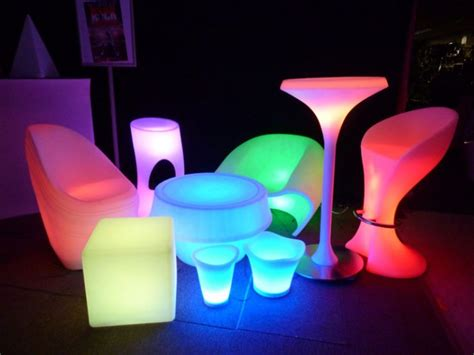 led furniture lumaform led illuminated furniture a hit at plasa etnow com