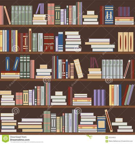 svg pattern library vector seamless book pattern stock vector illustration