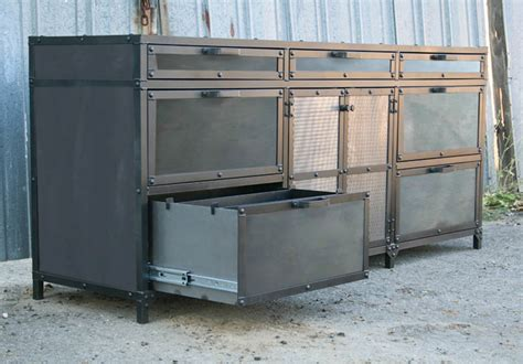 Industrial Cabinet by Combine 9 Industrial Furniture Industrial File Cabinet
