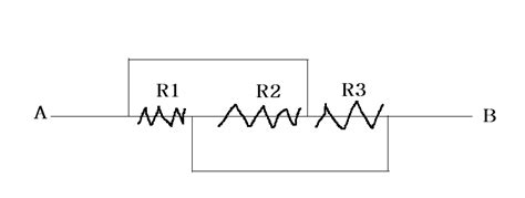 resistors triangle circuits detecting if resistances are parallel or series in complex circuits physics stack exchange