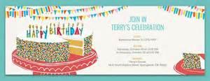 free birthday invitations invites for children