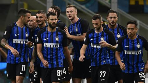 Middlayer Inter Prematch 2017 18 inter milan ac milan match juventus with winning starts in serie a football hindustan times