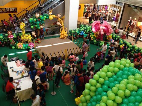 Shopping Mall Balloons Event Balloonsballoons