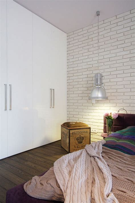 post industrial apartment in warsaw exhibiting a clean and open layout apartment in warsaw exhibiting fresh