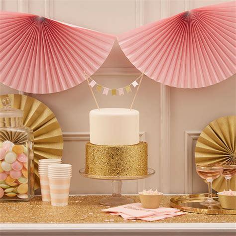 Dekoration Hochzeit Rosa by Hochzeitsdeko In Gold Und Rosa My Bridal Shower