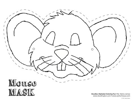 mouse mask template printable best photos of mouse mask template printable mouse mask