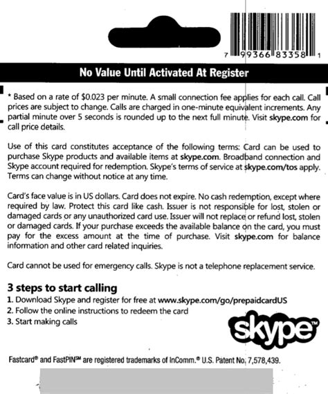 Skype Gift Card Discount - buy skype 25 prepaid card gift card voucher and download