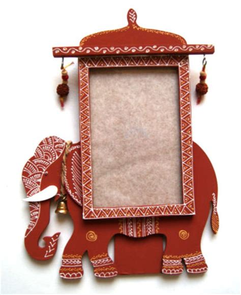 Pics Of Handmade Photo Frames - handmade elephant wood photo frame set of 4