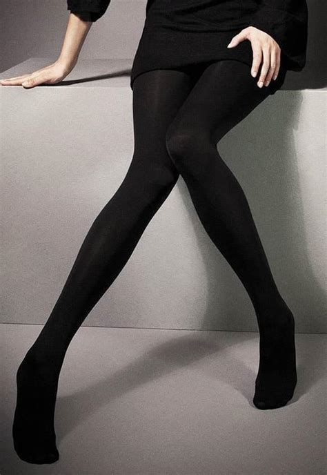 300 denier cotton rich opaque tights by veneziana dress my legs