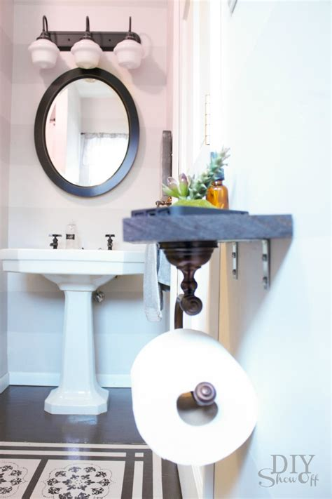 Toilet Paper Rack by Bathrooms Archives Diy Show Off Diy Decorating And