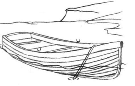 how to draw a boat hard como desenhar o barco de madeira um l pis passo a passo